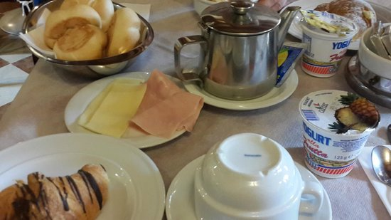 Hotel Orion: завтрак