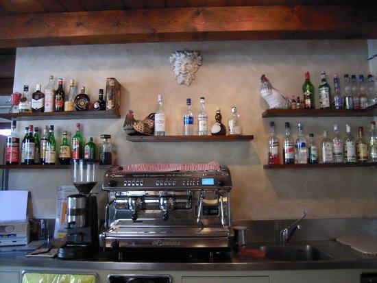 Osteria Il Boccaccio : tolle Bar