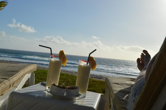 Le Saint Alexis Hotel & Spa: smoothie banane