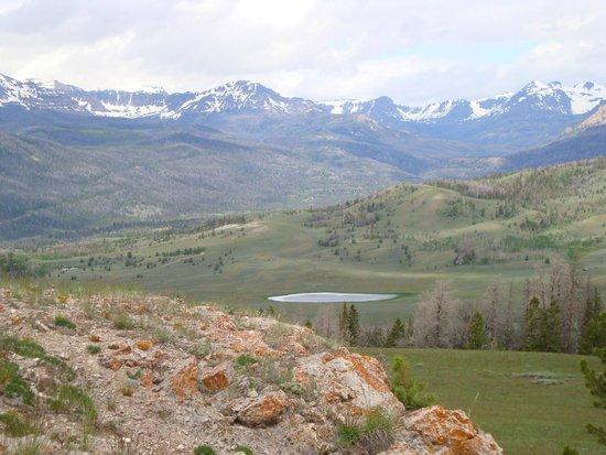 T Cross Ranch: Taken on the trail