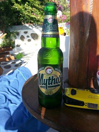 Sun Of Mykonos Studios: Refrescos en la psicina