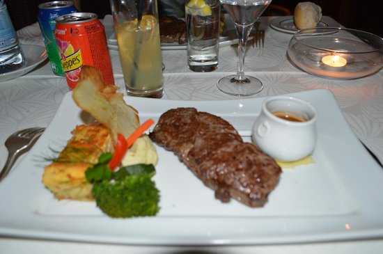 Le Saint Alexis Hotel & Spa: Faux Filet
