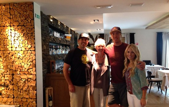 Hotel Sonne: Us with the owner! She is so lovely!!