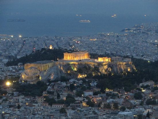 Mount Lycabettus : View from the top