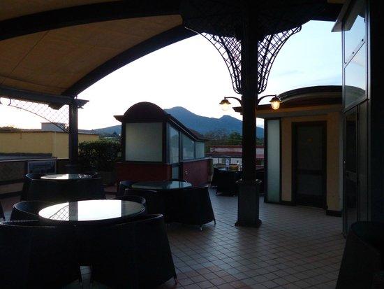 Albergo Pompei Valley: Rooftop terrace