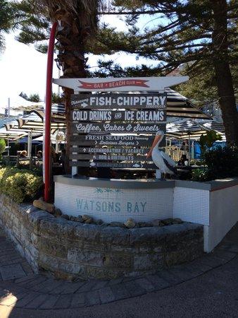 Watson's Bay: 看板