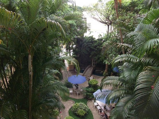 Pacific Club Resort: View of breakfast garden
