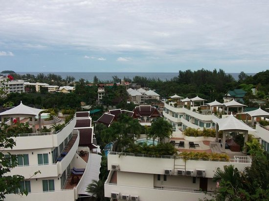Pacific Club Resort: View from rooftop pool