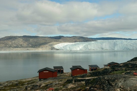 Ice camp Eqi, Disko Bay, Greenland
