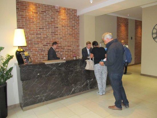 Metropolitan Boutique Hotel: Reception area