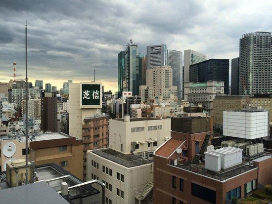 Sotetsu Fresa Inn Hamamatsucho Daimon: 14F廊下から見た眺め