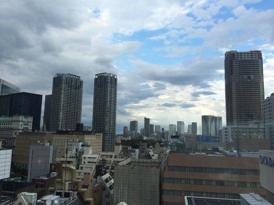 Sotetsu Fresa Inn Hamamatsucho Daimon: 客室からの眺め(14F)