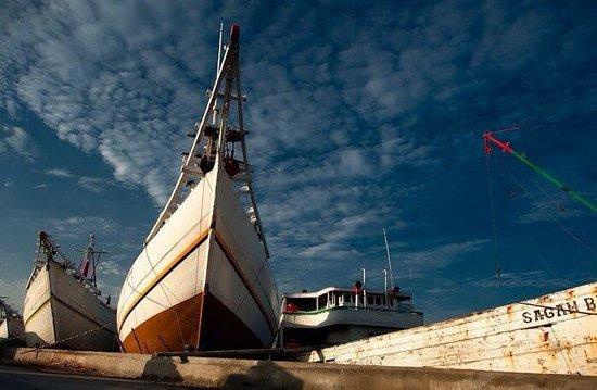 Sunda Kelapa Harbour : Harbored