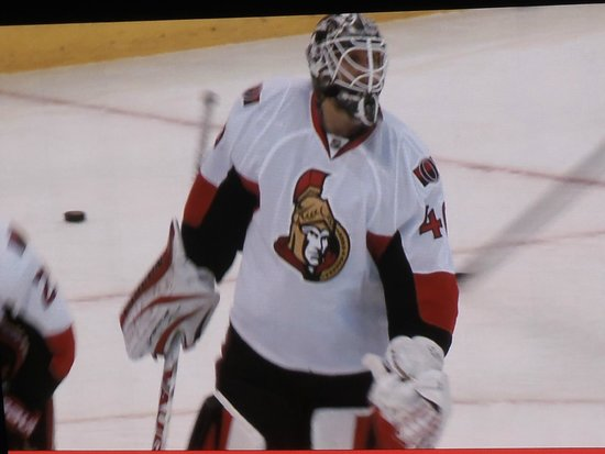 Canadian Tire Centre: He looks mean