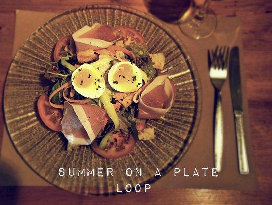 The Loop Bar : Summer salad