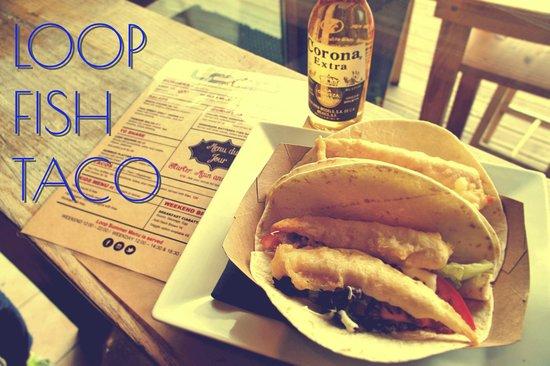 The Loop Bar : Fish taco