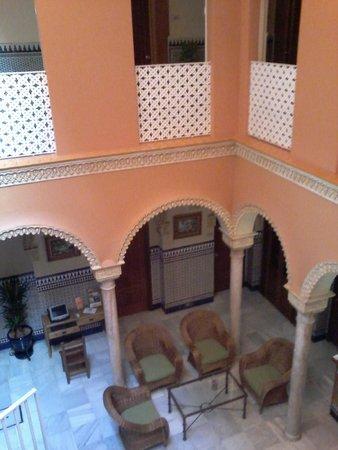 Hotel Zaida: patio