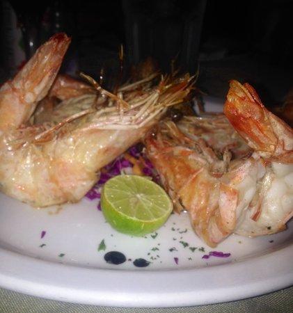 Los Camisones Restaurante: Langostinos a la Sal