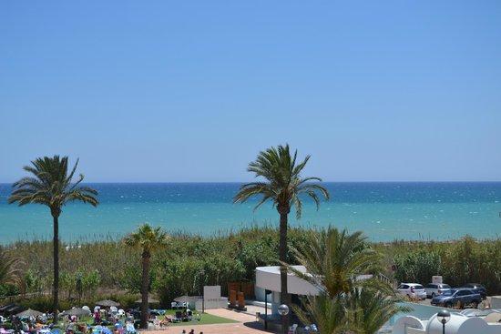 Hotel Playas de Guardamar: вид из номера со 2 этажа