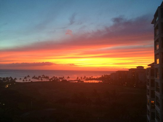 Marriott's Ko Olina Beach Club: Another Spectacular Sunset From Room