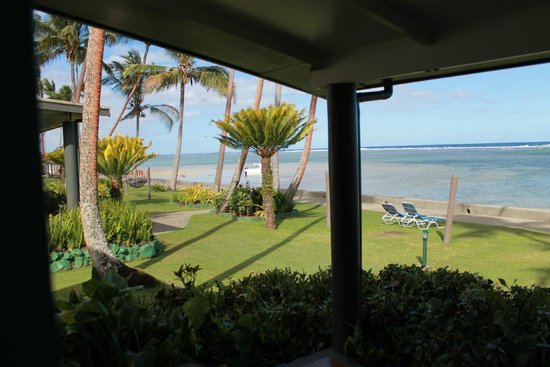 Fiji Hideaway Resort & Spa : amazing view from our room