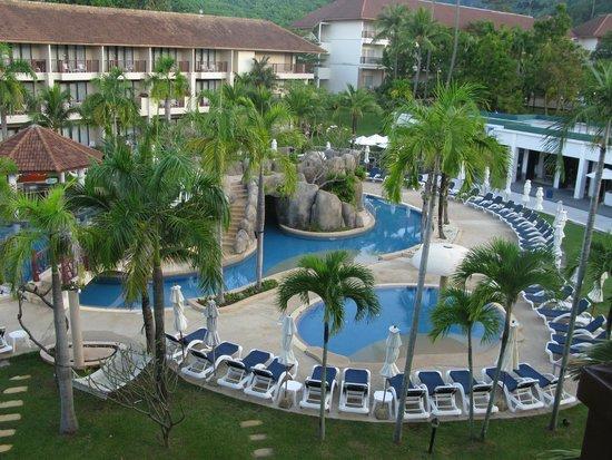 Centara Karon Resort Phuket : вид из номера 2304