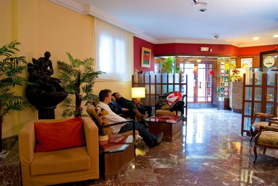 Hotel Los Angeles : Salón