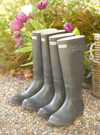 Gregans Castle Hotel: Purple Wellies