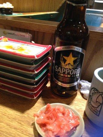 Isobune Sushi : bien repus