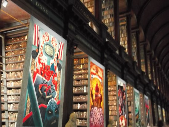 The Book of Kells and the Old Library Exhibition: trinity