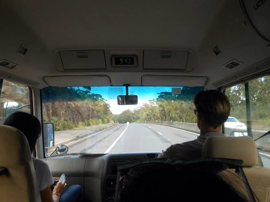 Colourful Trips - Day Tours: Our drivers to Jervis Bay (1st week of February 2014)