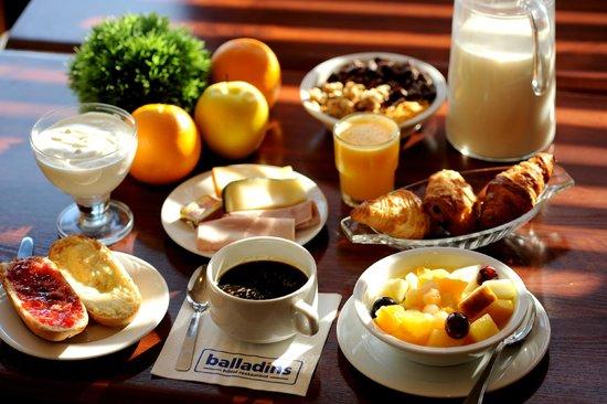 Hôtel balladins Toulouse Purpan : Petit-déjeuner