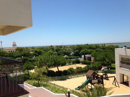 Hotel Fuerte el Rompido: Habitación lateral con vistas