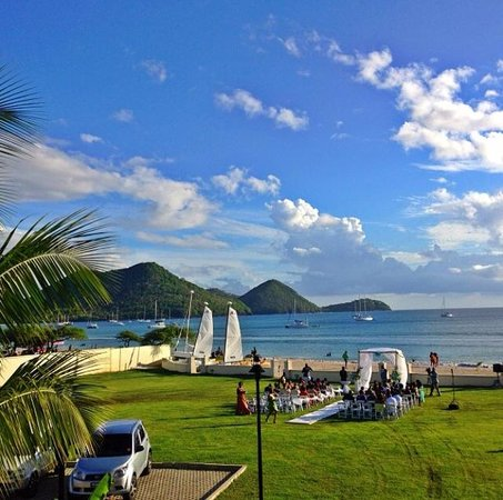 The Landings St. Lucia : View from our room