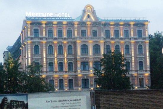 Mercure Riga Centre: Facciata principale