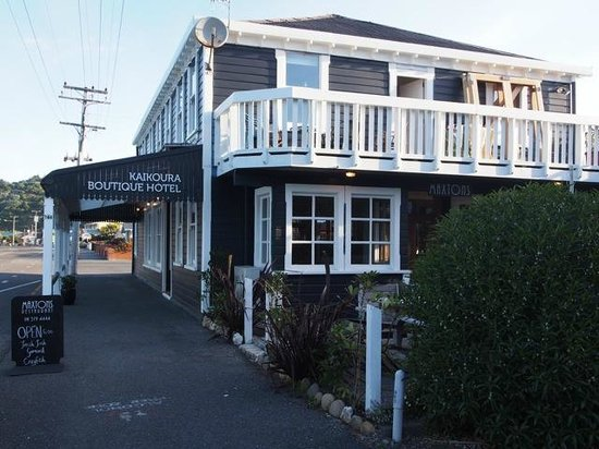 Kaikoura Boutique Hotel : The Guest house