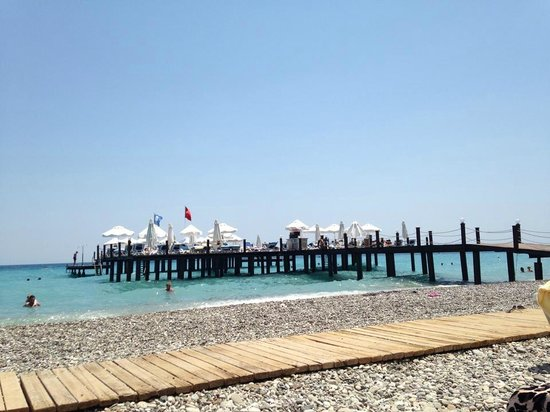 Barut Kemer : the pool pier