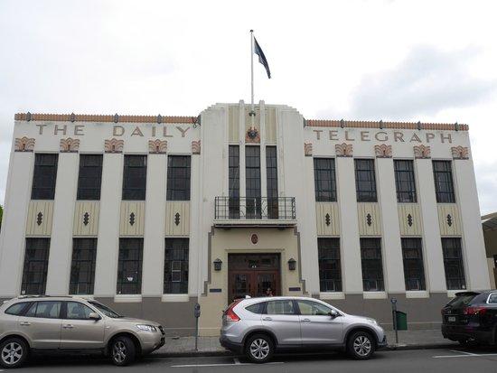 Art Deco Trust Daily Telegraph Building Napier