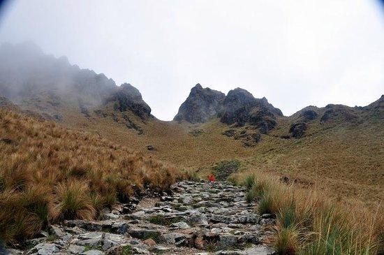 Camino Inca: dead woman pass