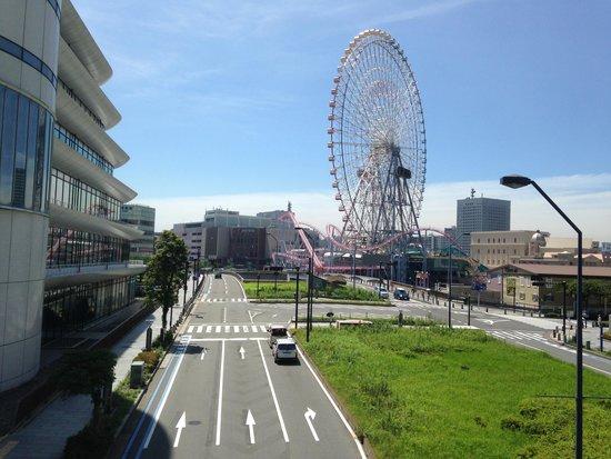 InterContinental  Yokohama Grand: Funfair (Cosmoworld) 5 minutes walk away
