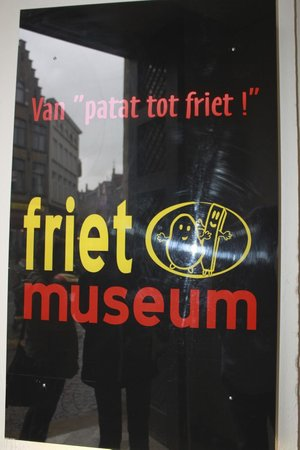 Friet Museum : Signage at the entrance