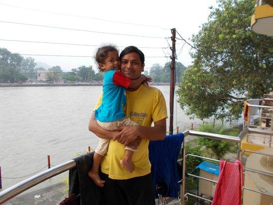 Hotel Aditya : Ganga Facing View from balcony