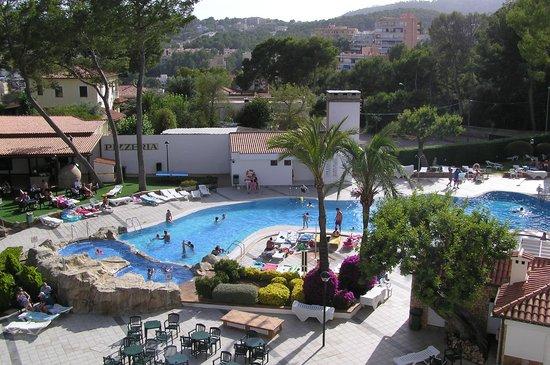 BQ Belvedere Hotel: Parte de la piscina