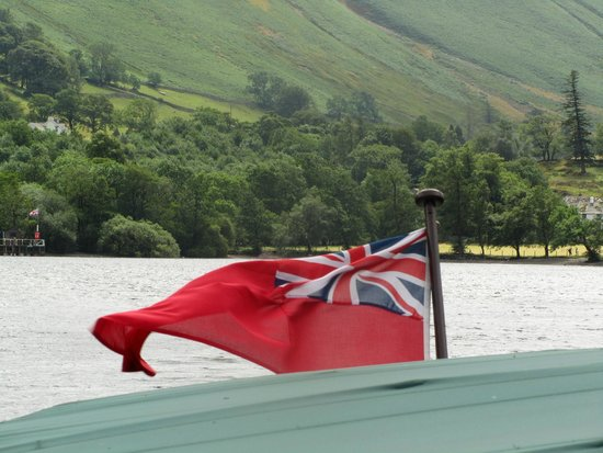 Ullswater Steamers: Windy day on Ullswater