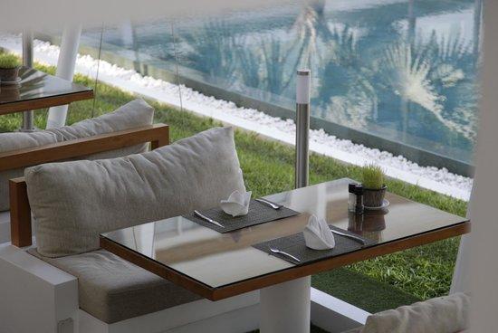 Lanna Samui: Lanna breakfast area