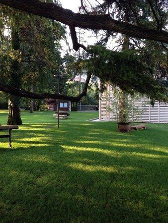 Villa Madruzzo : Vista parco