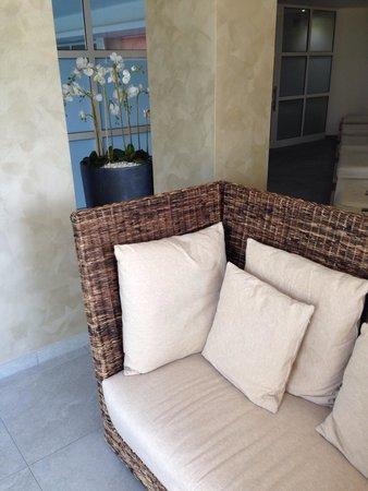 Villa Madruzzo : Salottino area relax