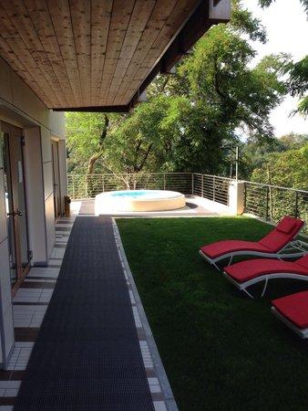 Villa Madruzzo : Solarium esterno