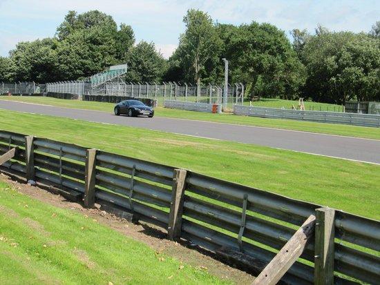 Oulton Park Circuit: My Aston Martin on the track.