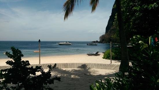 Sugar Beach, A Viceroy Resort: view from Bayside
